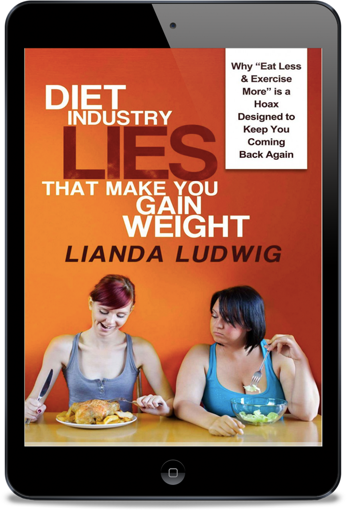 book cover for Diet Industry Lies