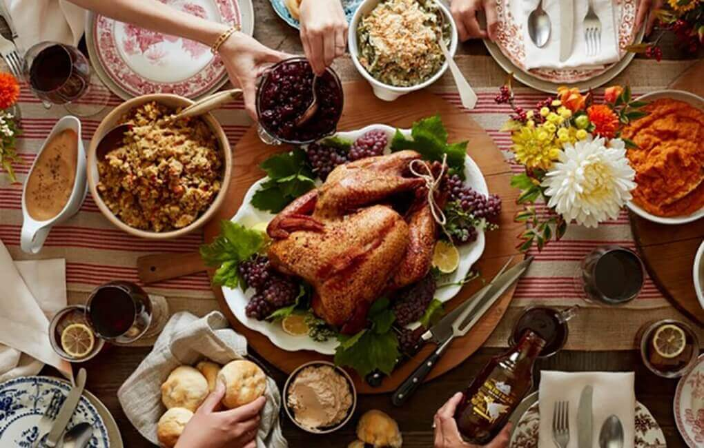fear of over-eating during Thanksgiving dinner