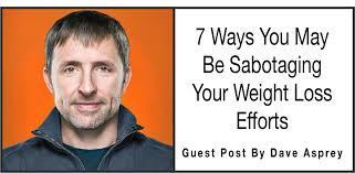 First after photo of Dave Asprey who gained weight after being on Paleo Diet