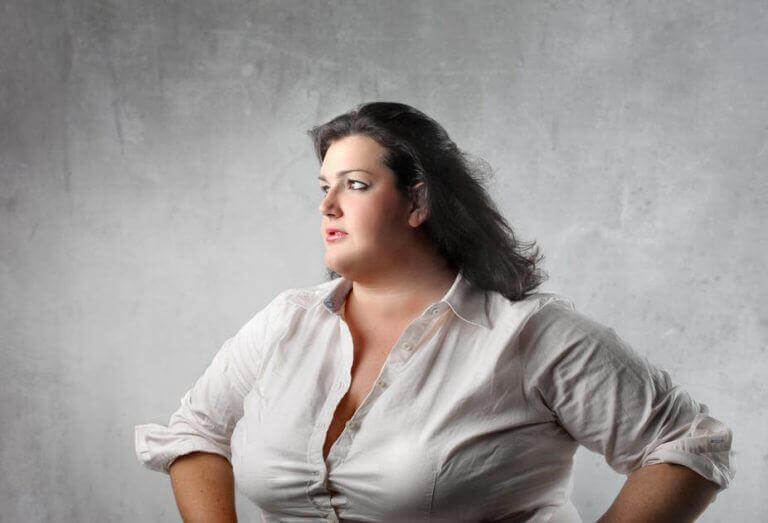 assertive fat woman - don't try to fat shame her