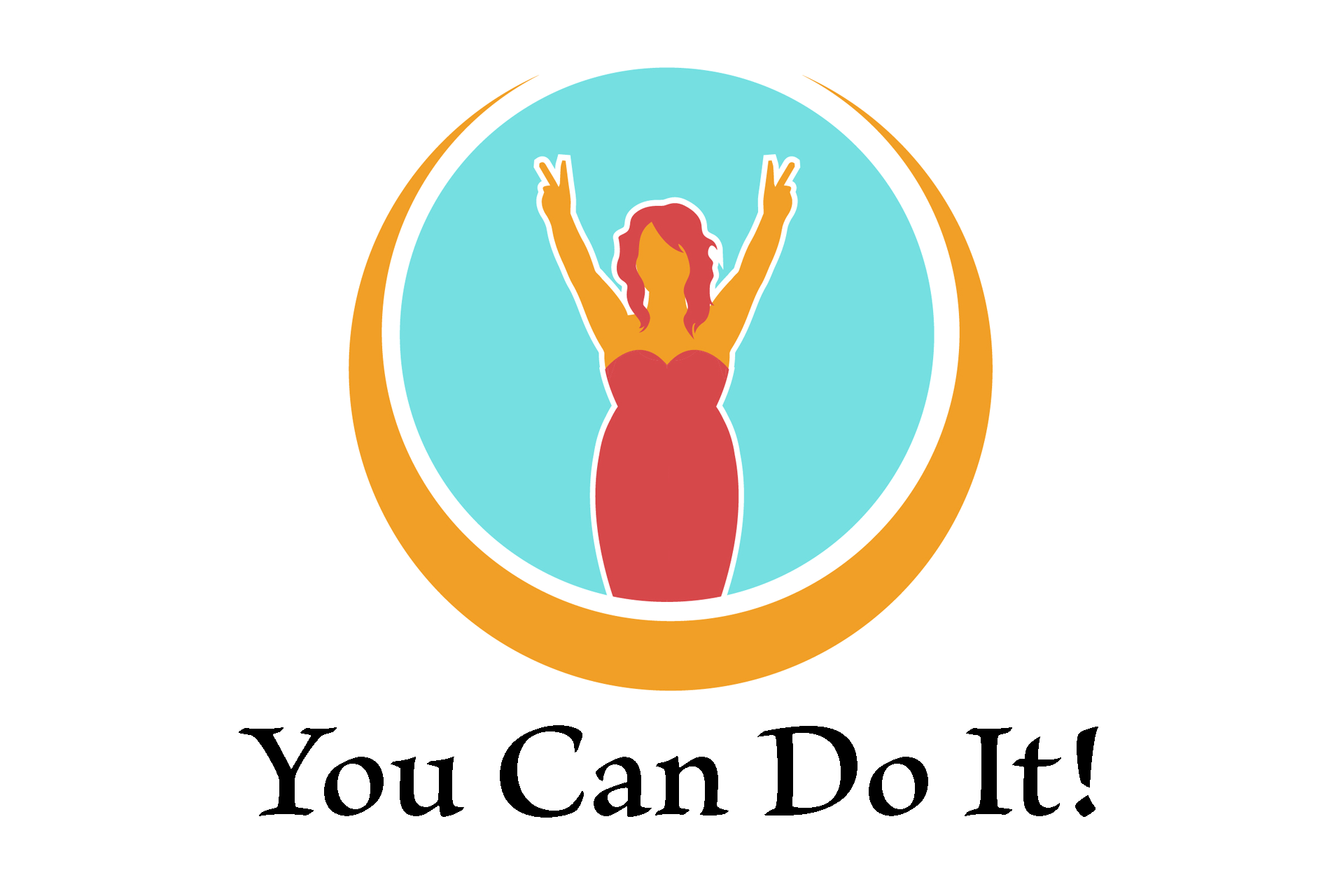You can do it, logo of stress eating solutions