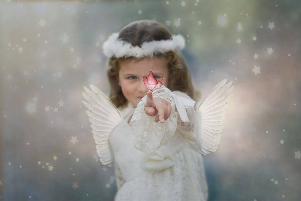Your childhood wish can still be your passion- little angel girl