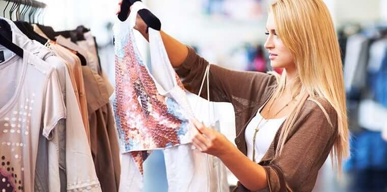 """woman with thin privilege to buy """"regular"""" size and priced clothes"""