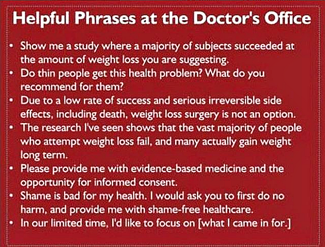 Helpful phrases to use at the doctor's office